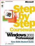 Microsoft Windows 2000 Professional Step by Step Courseware Core Skills Class Pack, ActiveEducation Staff, 0735609853