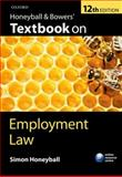 Honeyball and Bowers' Textbook on Employment Law, Honeyball, Simon, 019963985X