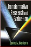 Transformative Research and Evaluation, Mertens, Donna M., 1593859856