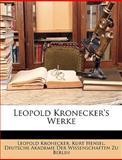 Leopold Kronecker's Werke, Leopold Kronecker, 1149009853