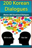 200 Korean Dialogues Box Set, Like Test Prep, 1499569858
