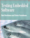 Testing Embedded Software, Broekman, Bart and Notenboom, Edwin, 0321159861