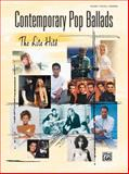 Contemporary Pop Ballads, Alfred Publishing Staff, 0739039865