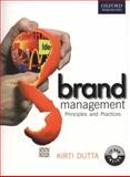 Brand Management : Principles and Practices, Dutta, Kirti, 0198069863
