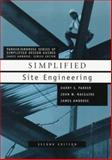 Simplified Site Engineering, Parker, Harry and MacGuire, John W., 0471179876