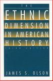 The Ethnic Dimension in American History, James Stuart Olson, 1881089878
