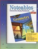 Geometry : Concepts and Applications, Noteables - Interactive Study Notebook with Foldables, Zike, Dinah, 0078729874