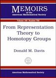 From Representation Theory to Homotopy Groups, Donald M. Davis, 0821829874