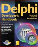 Delphi Developers Handbook, Cantu, Marco and Gooch, Tim, 0782119875