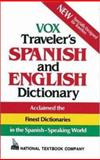 Vox Traveler's Spanish and English Dictionary, Vox Staff, 0844279870