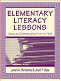 Elementary Literacy Lessons 9780805829884
