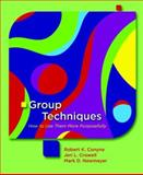 Group Techniques : How to Use Them More Purposefully, Conyne, Robert K. and Newmeyer, Mark D., 0131149881