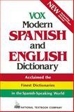 Vox Modern Spanish and English Dictionary, Vox Staff, 0844279889
