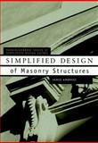 Simplified Design of Masonry Structures, Ambrose, James E. and Ambrose, James, 0471179884
