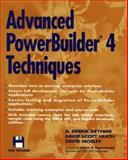 Advanced PowerBuilder 4.0 Techniques, Darius D. Deyhimi and David R. Mosley, 0471049891
