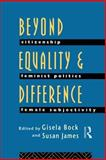 Beyond Equality and Difference, , 0415079896