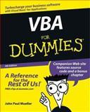 VBA for Dummies, John Paul Mueller, 0764539892