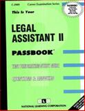 Legal Assistant II, Jack Rudman, 0837329892