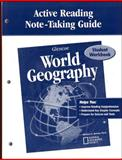 Glencoe World Geography, Active Reading Note-Taking Guide, Fisher, Douglas and McGraw-Hill Book Company Staff, 0078679893