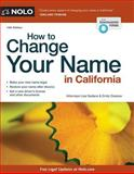 How to Change Your Name in California, Lisa Sedano and Attorney, Emily Doskow, 1413319890