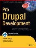 Pro Drupal Development, VanDyk, John K. and Buytaert, Dries, 1430209895