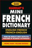 Harrap's Mini French Dictionary, Janes, Michael, 0671899899