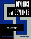 Deviance and Deviants : An Anthology, Richard Tewksbury, 0195329902