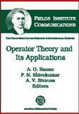 Operator Theory and Its Applications, , 0821819909