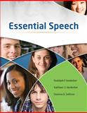 Essential Speech, Verderber, Rudolph F. and Verderber, Kathleen S., 053844990X