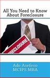 All You Need to Know about Foreclosure, Ade Asefeso MCIPS MBA, 1499599900
