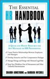 The Essential HR Handbook, Armstrong, Sharon, 1564149900