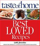 Taste of Home Best Loved Recipes, Taste of Home Editorial Staff, 0898219914