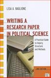 Writing a Research Paper in Political Science 2nd Edition