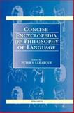 Concise Encyclopedia of Philosophy of Language, , 0080429912