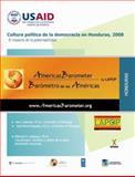 Cultura política de la democracia en Honduras 2008 9780981729916