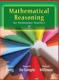 Mathematical Reasoning for Elementary School Teachers, Long, Calvin T. and DeTemple, Duane W., 0321759923
