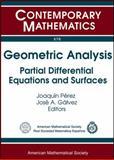Geometric Analysis, , 0821849921