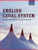 English Legal System, Wilson, Steve and Mitchell, Rebecca, 0199669929