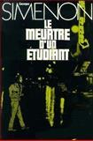 Le Meurtre d'un Etudiant, Simenon, Georges, 0030849934