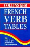 Collins Gem French Verb Tables, HarperCollins Publishers Ltd. Staff, 0004709934