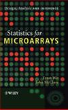 Statistics for Microarrays : Design, Analysis and Inference, Wit, Ernst and McClure, John, 0470849932