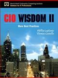 Cio Wisdom II : More Best Practices, Laplante, Phillip and Costello, Thomas, 0132619938