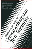 Clinical Application of Neuropsychological Test Batteries, , 1468449931