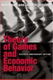Theory of Games and Economic Behavior, von Neumann, John and Morgenstern, Oskar, 0691119937