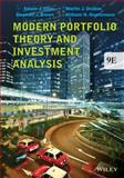 Modern Portfolio Theory and Investment Analysis, Elton, Edwin J. and Brown, Stephen J., 1118469941
