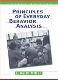 Principles of Everyday Behavior Analysis, Miller, L. Keith, 053459994X