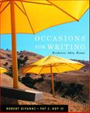 Occasions for Writing (with 2009 MLA Update Card), DiYanni, Robert and Hoy, Pat C., II, 0495899941