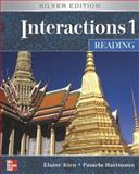 Interactions/Mosaic: Silver Edition - Interactions 1 (Low Intermediate to Intermediate) - Reading Class Audio Tapes, Kirn, Elaine and Hartmann, Pamela, 0073279943