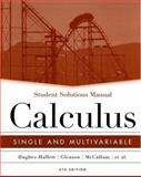Calculus : Single and Multivariable, Hughes-Hallett, Deborah and McCallum, William G., 0471659959
