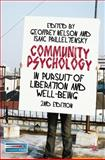 Community Psychology : In Pursuit of Liberation and Well-Being, Nelson, Geoffrey and Prilleltensky, Isaac, 0230219950